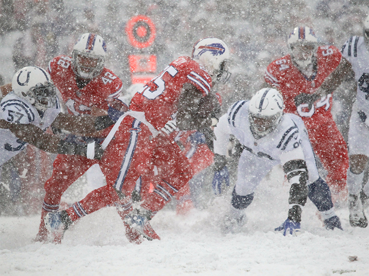 Bills Colts snow