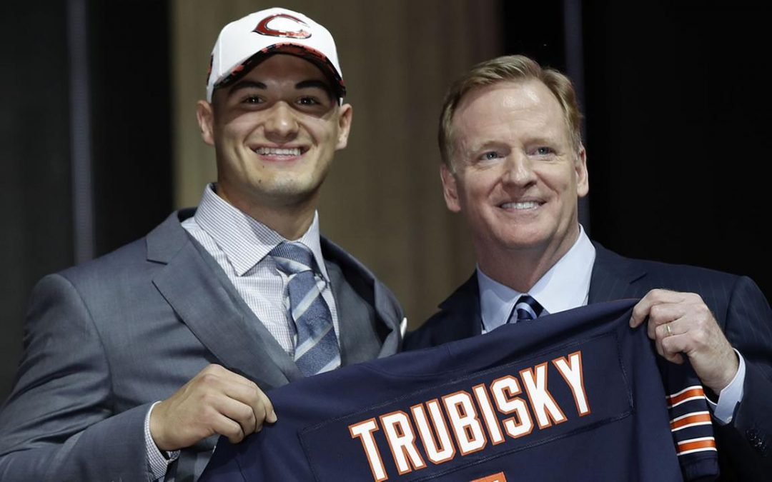 An oral history of the Mitch Trubisky trade